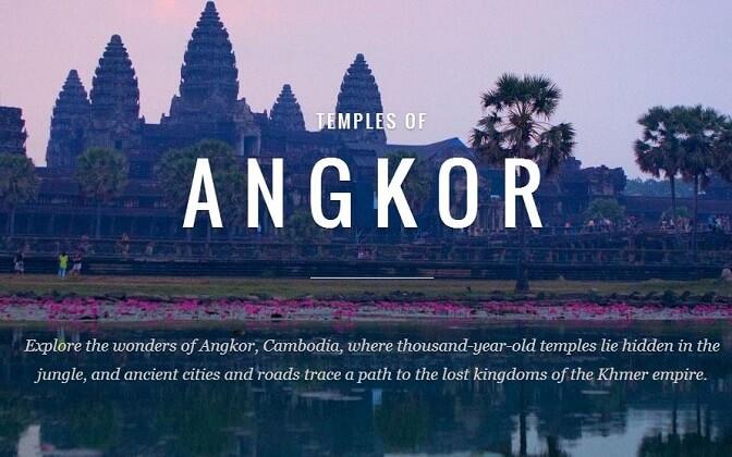 Google Maps показал древние храмы Камбоджи_yasnoponyatno.com