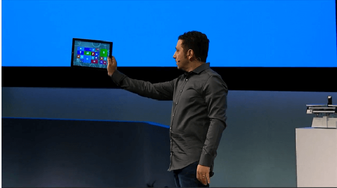 Microsoft представляет новый Windows-планшет_yasnoponyatno.com