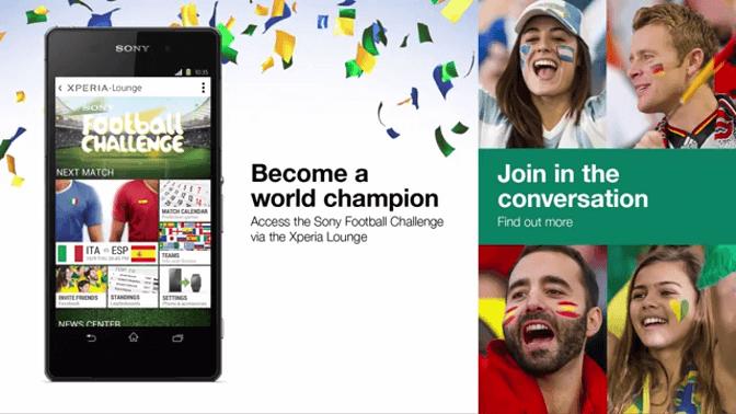 Смартфон Sony - официальный смартфон Чемпионата мира по футболу_yasnoponyatno.com