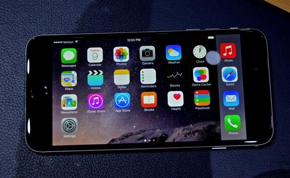 Вычислена критическая масса приложений для iPhone 6 plus