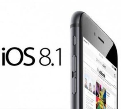 Стала окончательно известна дата выхода iOS 8.1