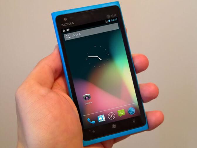Nokia продолжает разрабатывать новые Android-смартфоны