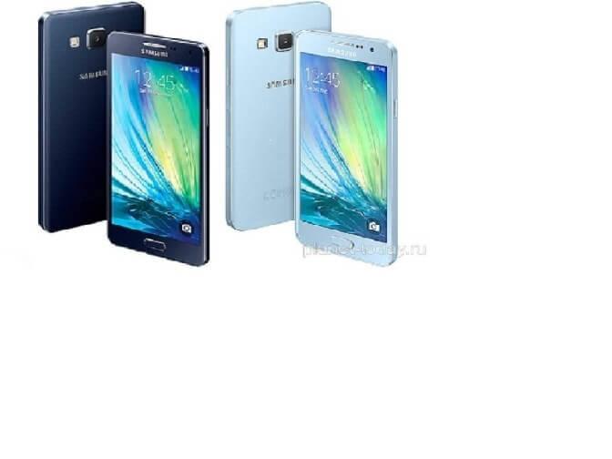 Смартфон Samsung Galaxy A5 в металлическом корпусе