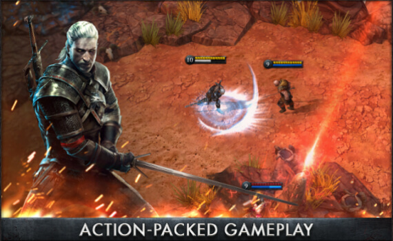 На iOS и Android вышла The Witcher Battle Arena