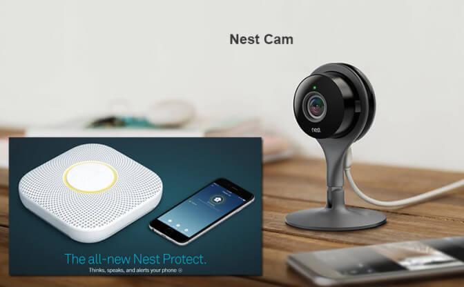 Nest Cam и Nest Protect: умный дом от Google