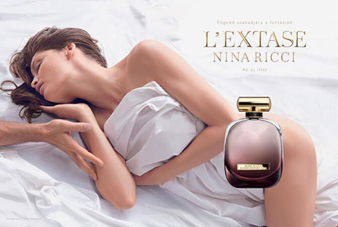 Nina ricci l'extase стоимость рекламного ролика