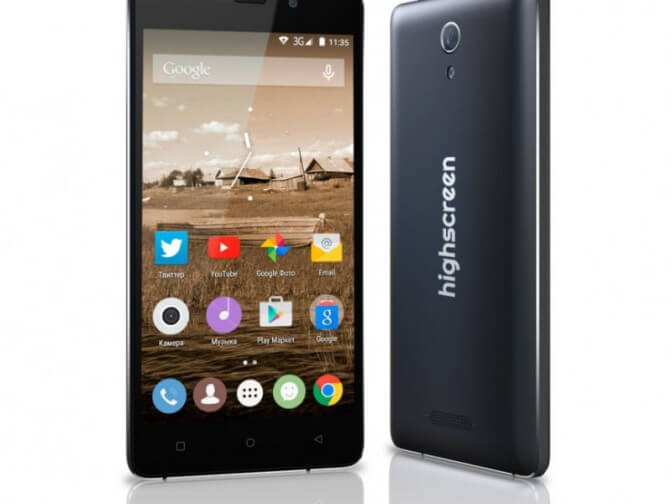Power Five – смартфон-долгожитель от Highscreen