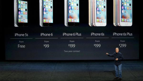 Компания Apple представила изменённые iPhone 6S и iPhone 6S Plus