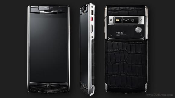 Vertu представила мощный смартфон премиум-класса