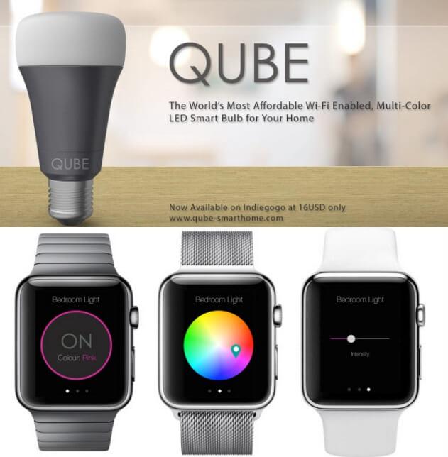 Смарт-лампа Qube: возможно, самая дешёвая умная лампа