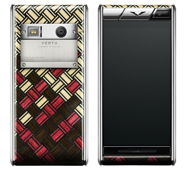 В России появился «деревянный» смартфон Vertu
