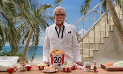 KFC представила четвертого полковника Сандерса в новом рекламном видео