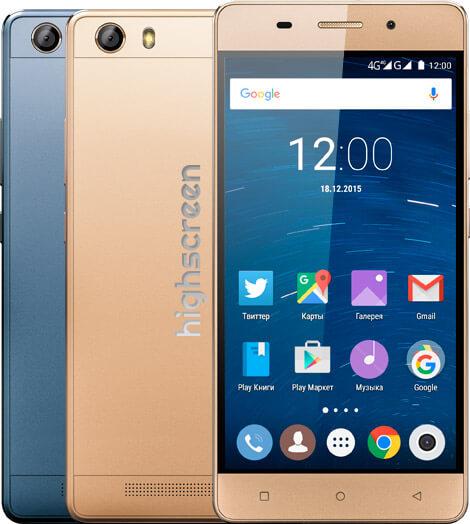 Размах по-русски: отечественный смартфон Highscreen имеет гигантскую батарею