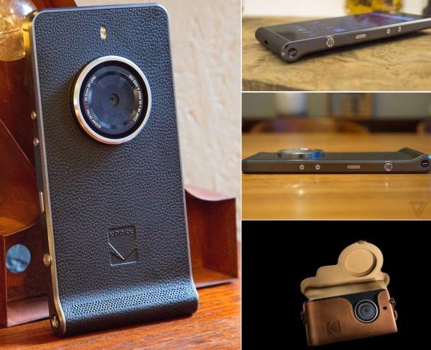 Ektra: винтажный смартфон — профессиональная камера от Kodak