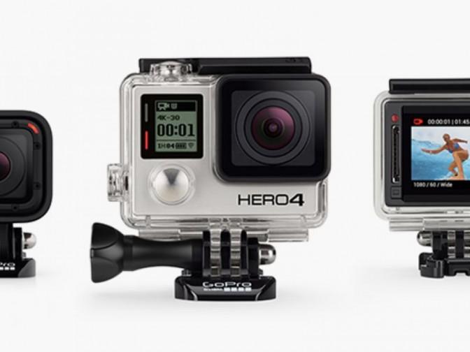 Реклама камеры GoPro впервые появилась на TV