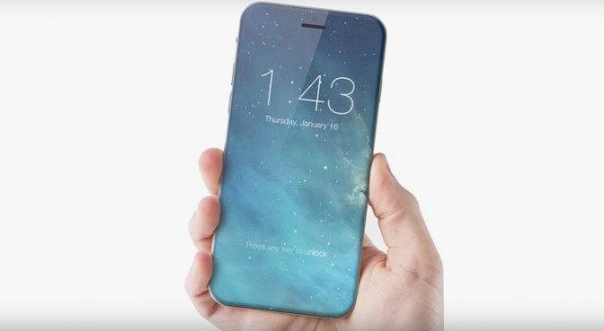 iPhone 8 будет оснащен стеклянным корпусом для беспроводной зарядки