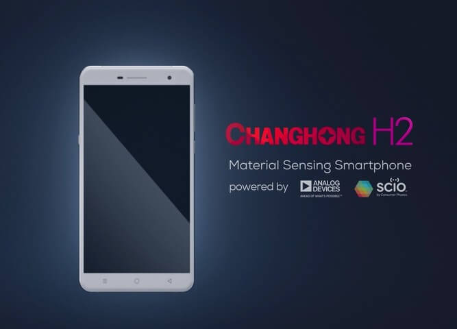 Уникальный смартфон Changhong H2 с инфракрасным сканером