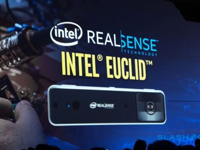 Новый мини-компьютер Intel Euclid для роботов