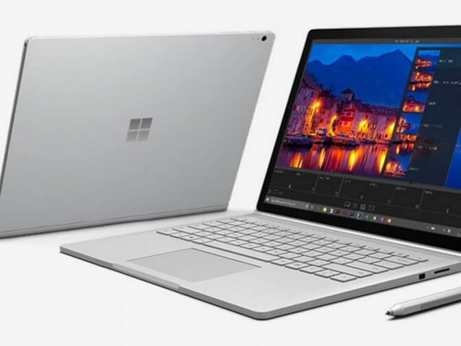 Компьютеры Microsoft Surface приобрели огромный успех