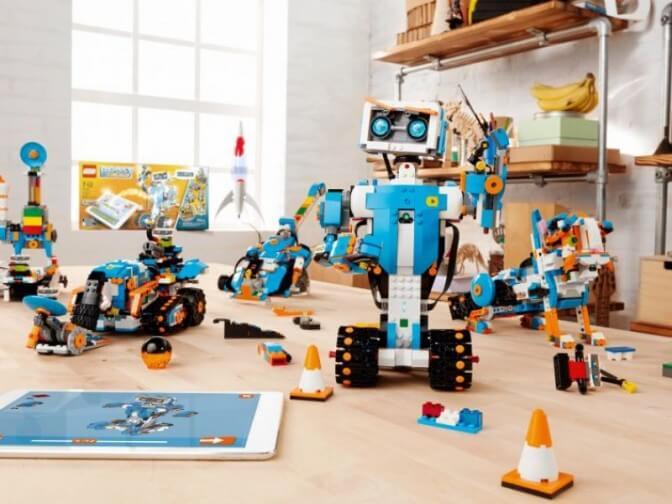 LEGO Boost помогает в освоении программирования