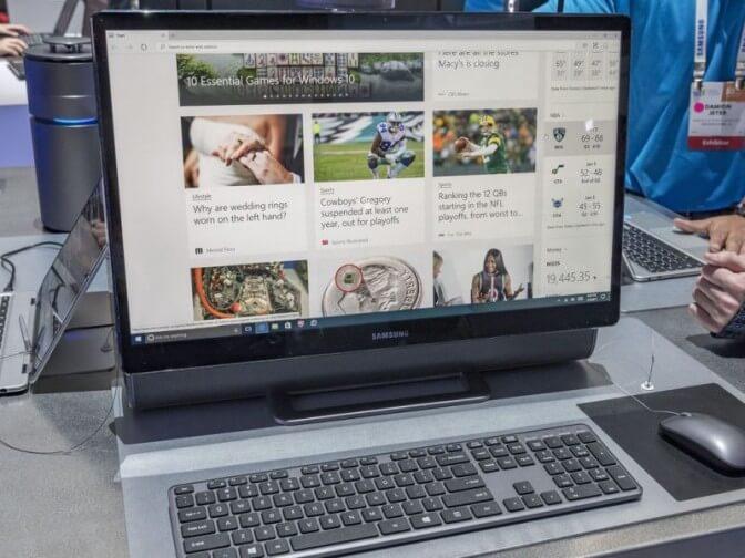 Новый моноблок Samsung ArtPC