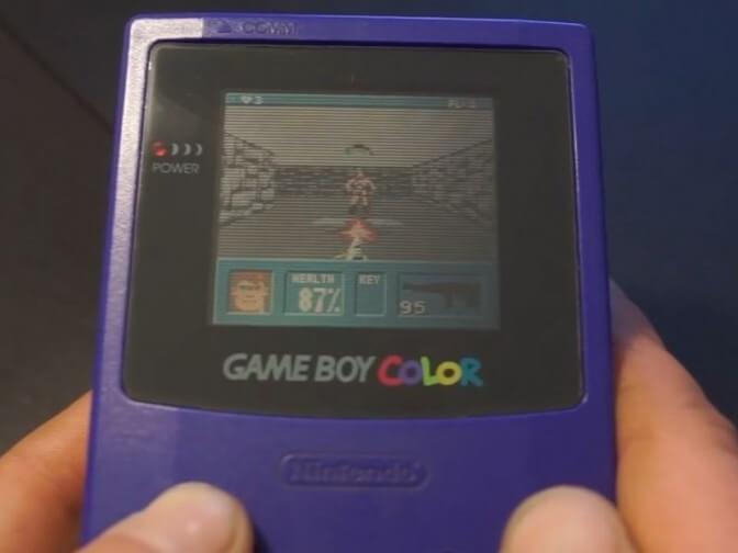 Wolfenstein 3D был портирован на Game Boy Color