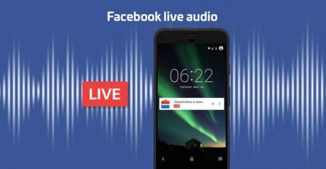 Facebook запускает живое радио