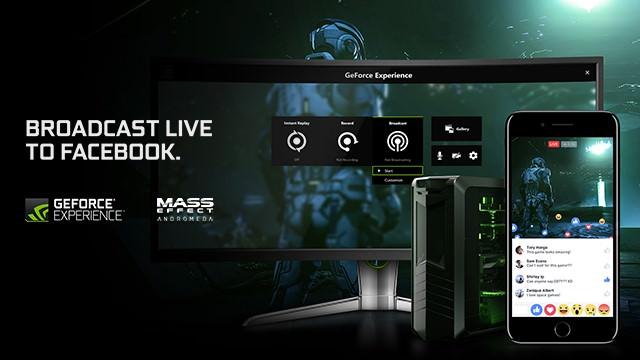 NVIDIA начала сотрудничество с Facebook Live