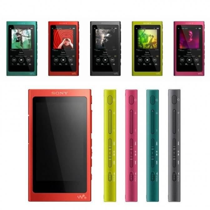 Новый аудиоплеер Sony Walkman NW-A35