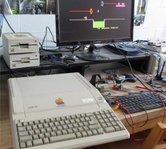 «Портал» портировали на ретрокомпьютер Apple