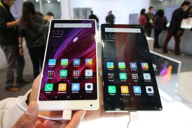 Новый смартфон Xiaomi Mi Mix