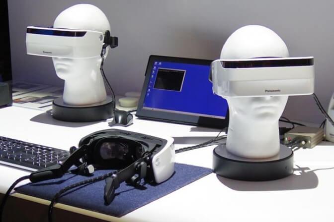 Новый шлем виртуальной реальности от Panasonic