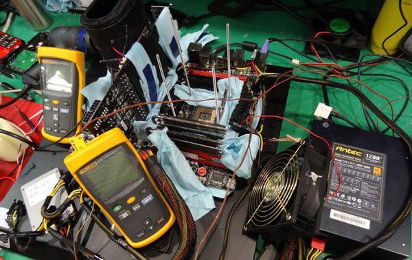 Новый рекорд: немец разогнал процессор  Core i7-7700K до небывалой скорости!