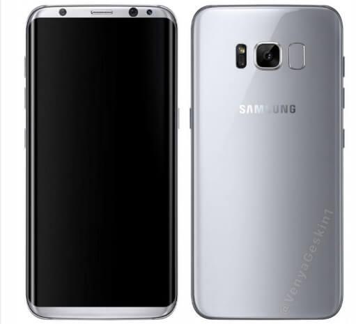 Новая утечка о Galaxy S8: дата презентации и старта продаж, цена, некоторые техпараметры