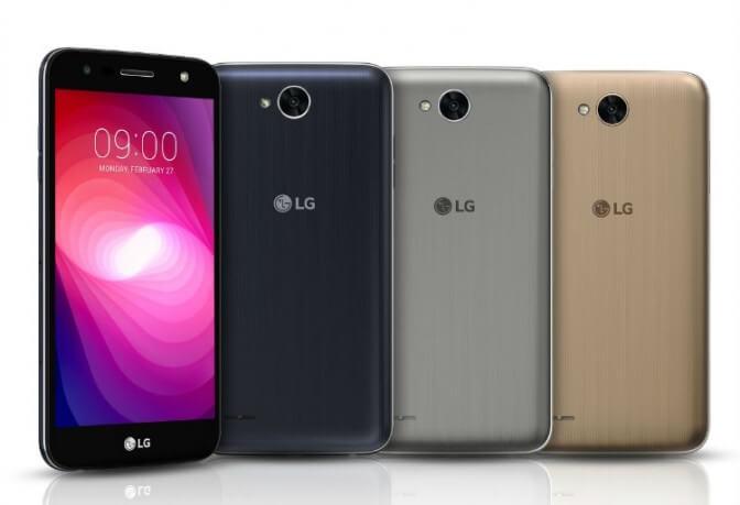 LG анонсировала выпуск смартфона  X Рower 2 с аккумулятором 4500 мА/ч