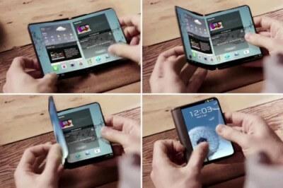 Cмартфон с гибким дисплеем от Samsung появится в этом году