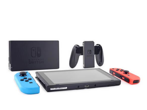 Новая приставка Nintendo получила четвёрку по ремонтируемости