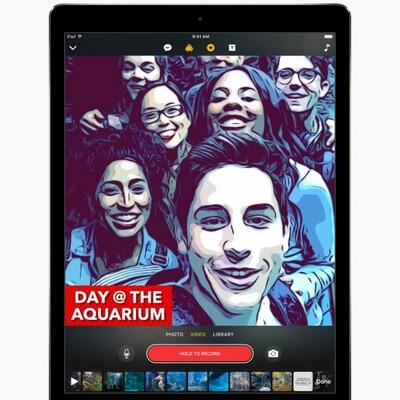 Apple анонсировало приложение Clip для создания видеороликов