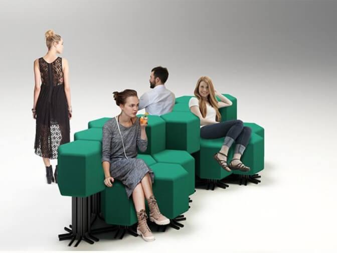 Инновационный диван от компании Vitra