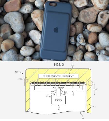 Чехол-батарея Smart Battery Case для айфона 7 скрывает в себе вспомогательную антенну