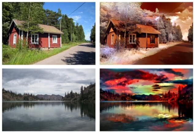 Adobe берёт на вооружение нейронные сети и меняет погоду на фотографиях