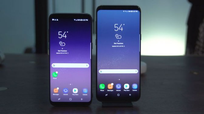 Samsung Galaxy S8 и S8+ на российском рынке