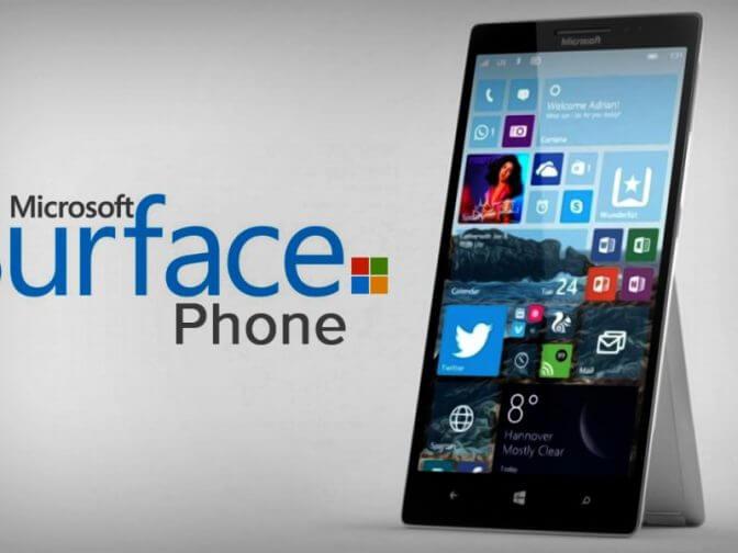 Microsoft начала работу над Surface Phone