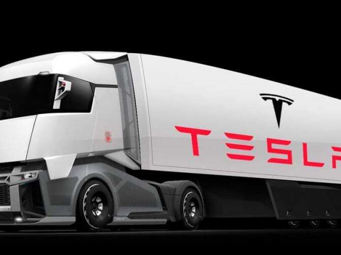 Tesla показала видео электрогрузовика