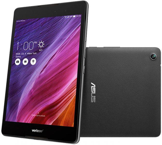 В США поступил в продажу новый планшет торговой марки ASUS