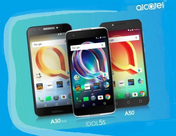 Alcatel анонсировал поступление в продажу трех новых смартфонов