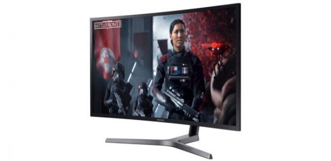 Компания Samsung выпустила новый супермонитор для геймеров