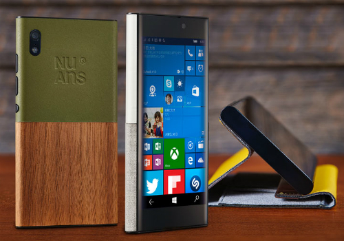 NuAns Neo, смартфон с Windows 10 Mobile «на борту», стал доступен за пределами Японии