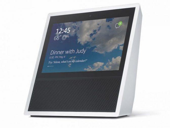 Новый смарт-динамик Amazon Echo Show