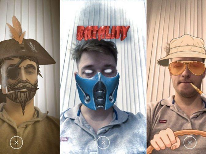 «ВКонтакте» запустила маски в «Историях» и платформу для их создания
